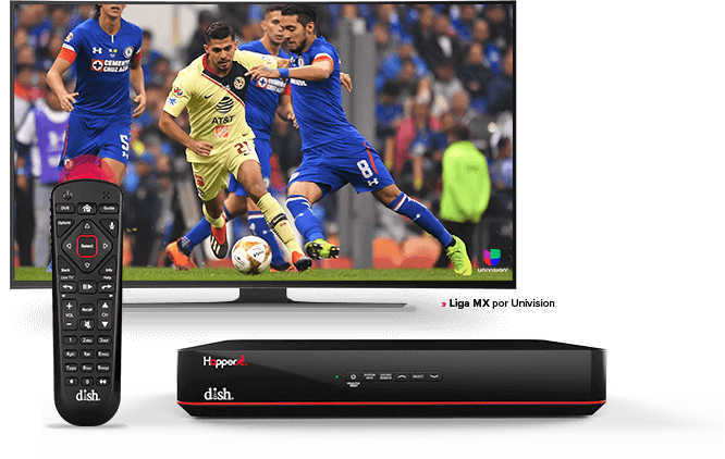 Liga MX - DVR Hopper - Voice Remote - DISH Latino